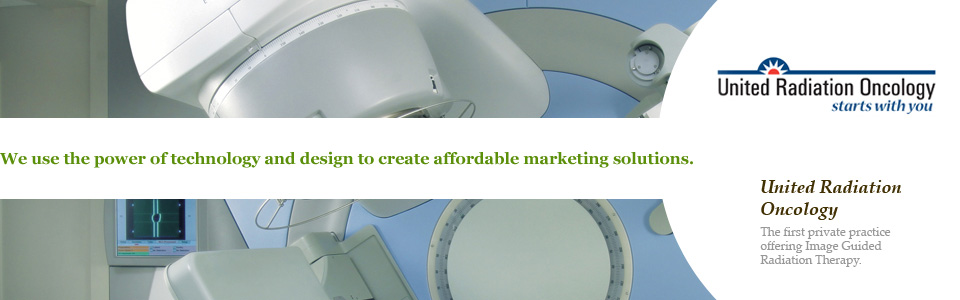 We use the power of technology and design to create affordable marketing solutions. United Radiation Oncology
