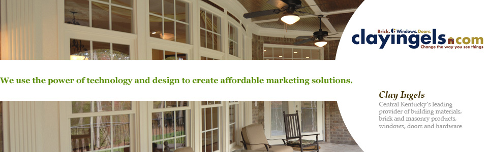 We use the power of technology and design to create affordable marketing solutions. Clay Ingels