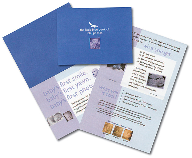 Women's Care Center Fetal Photo Brochure
