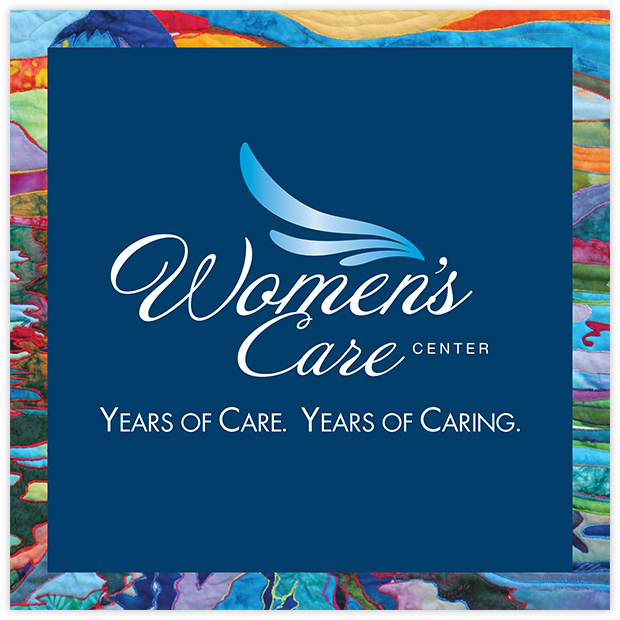 Women's Care Center Branded Hallway Signage